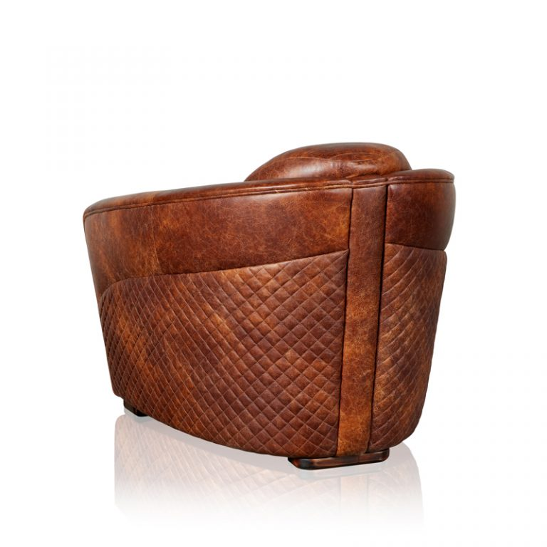 """Bentley Sabina"" Armchair - Old Club Brown"