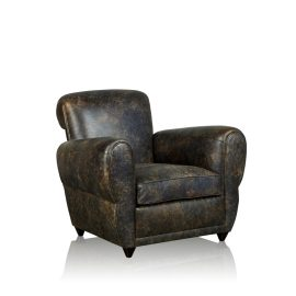 """Club"" Arm Chair - Old Club Anthracite"
