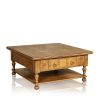 Coffee Table - Square with Drawers