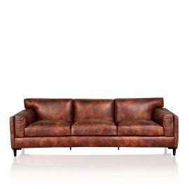 """London"" Sofa - Old Club Brown"