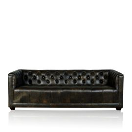 """Brooklyn"" Sofa - Old Club Anthracite"