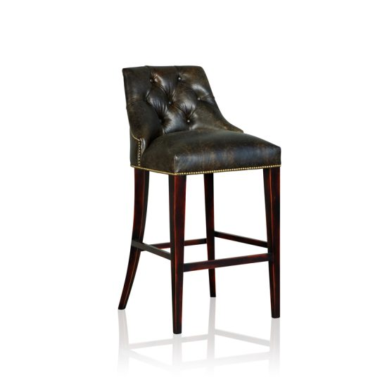 """New York"" Barstool - Old Club Anthracite"