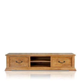 """Gothic"" Entertainment Unit - 2 Drawer"