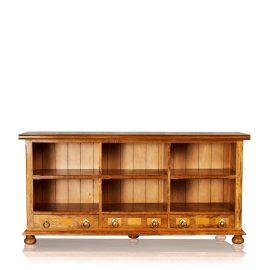 Bookcase - 6 Shelf & 3 Drawer