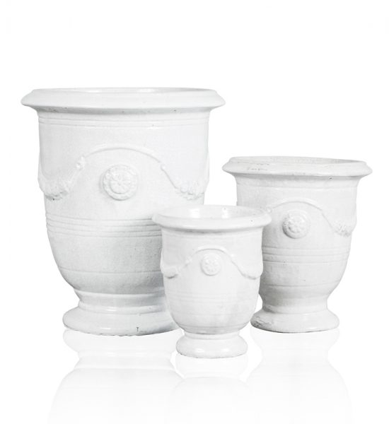 """Anduze Pot"" White"