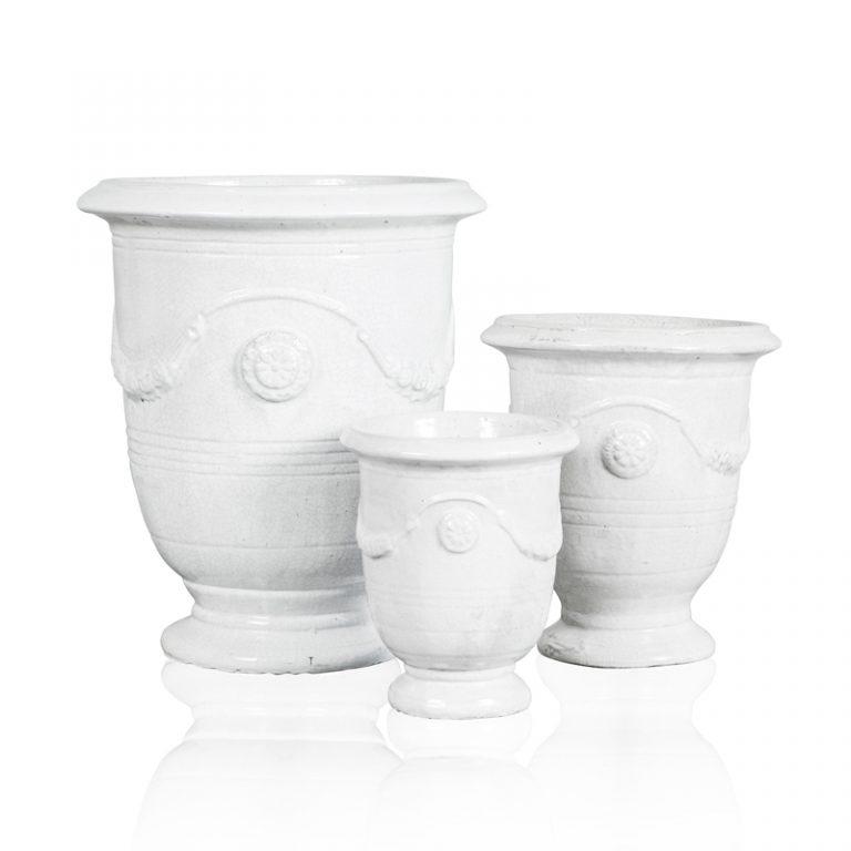 """Anduze Pot"" White"