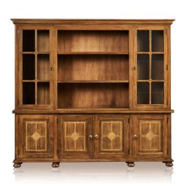 """Grand"" Bookcase - 6 Door"