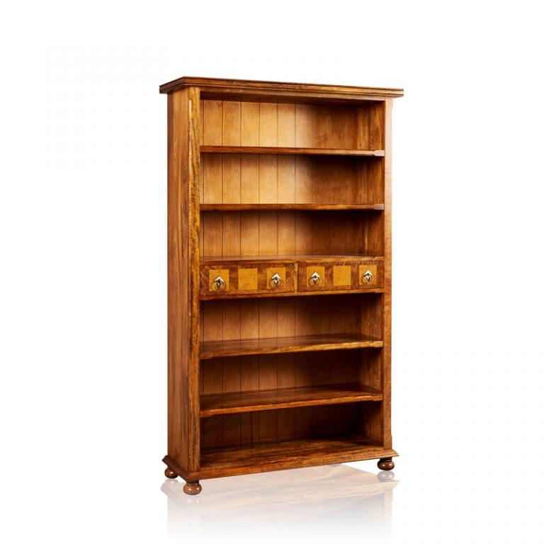 Bookcase - 6 Shelf & 2 Drawer
