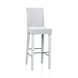 """Edward"" Bar Stool - White"