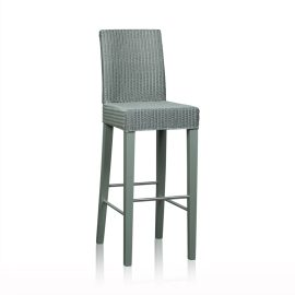 """Edward"" Bar Stool - Silver"