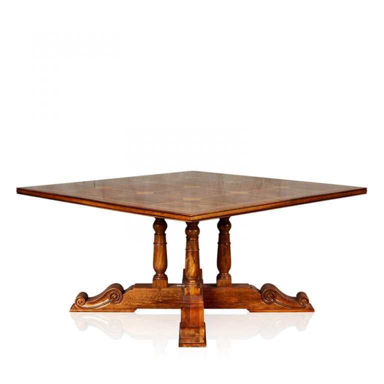 """""""Baluster"""" Dining Table - Square"""