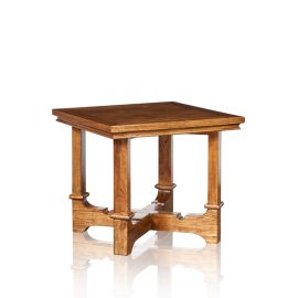"""Cordoba"" Lamp Table - White Cedar"