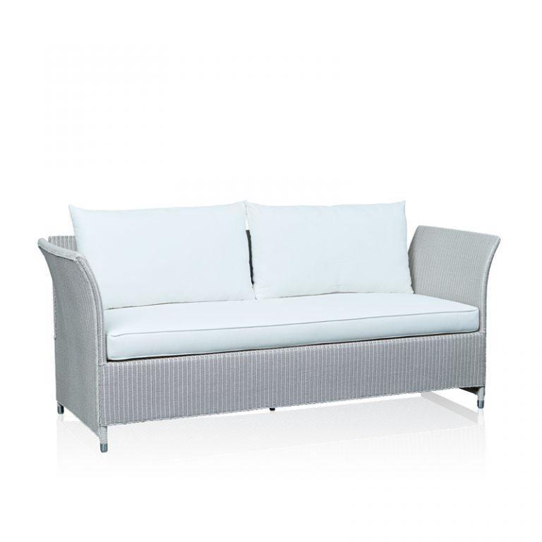 """""""Lexus"""" 3 Seater Sofa - White"""