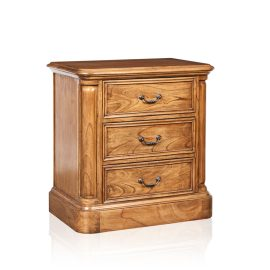 """Cordoba"" Chest of Drawers - 3 Drawer - White Cedar"