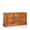 """Cordoba"" Buffet - 3 Door & 3 Drawer - White Cedar"