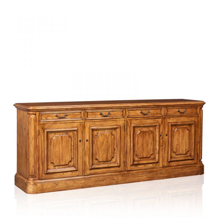 """""""Cordoba"""" Buffet - 4 Door & 4 Drawer - White Cedar"""
