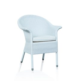 """Charlotte"" Arm Chair - White - Synthetic Loom"