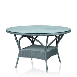Round Dining Table - Silver