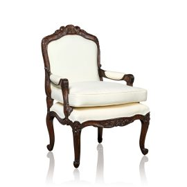 """Rocaille"" Arm Chair  - English Oak"
