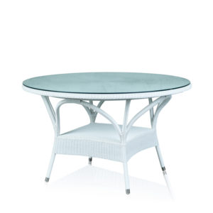 Round Dining Table - White