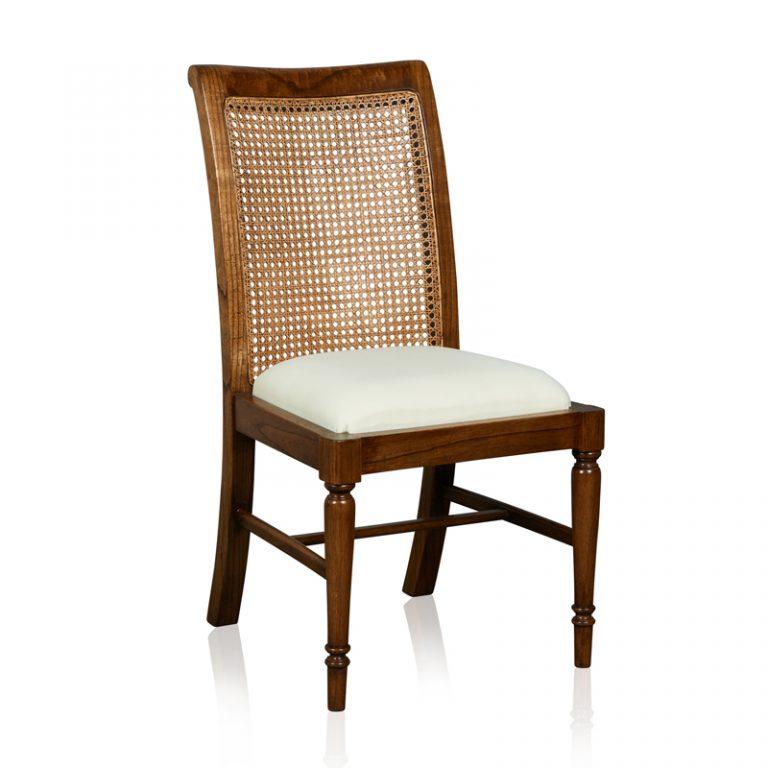 """""""Cordoba"""" Side Chair - White Cedar"""