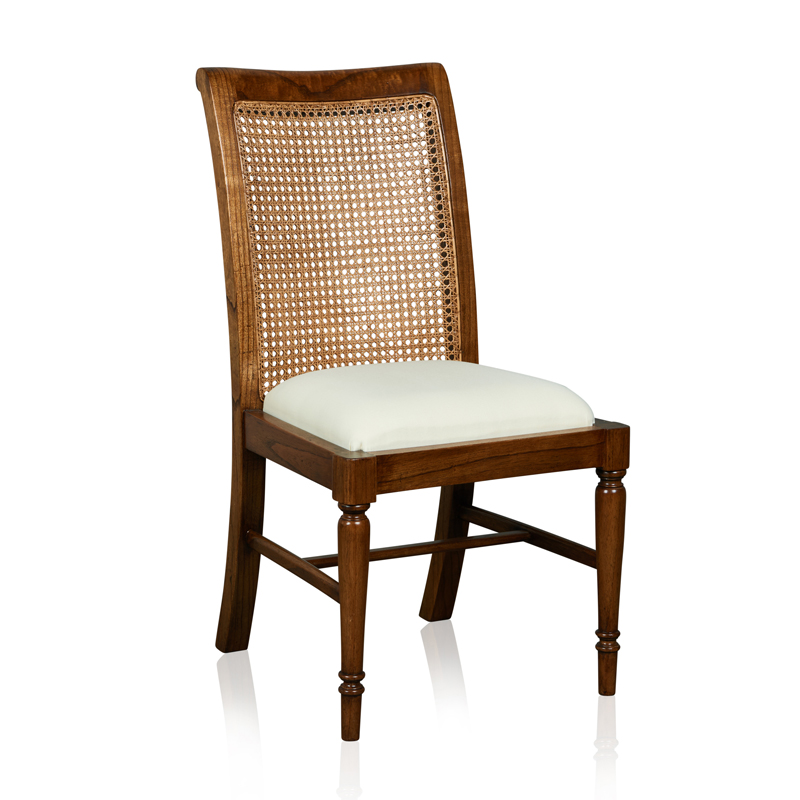 """Cordoba"" Side Chair - White Cedar"