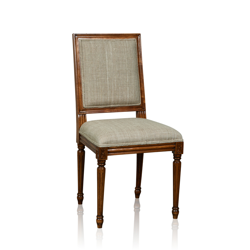 """Rococco"" Side Chair - Square Back"