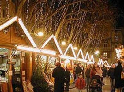 Marche de Noel (a Christmas market)