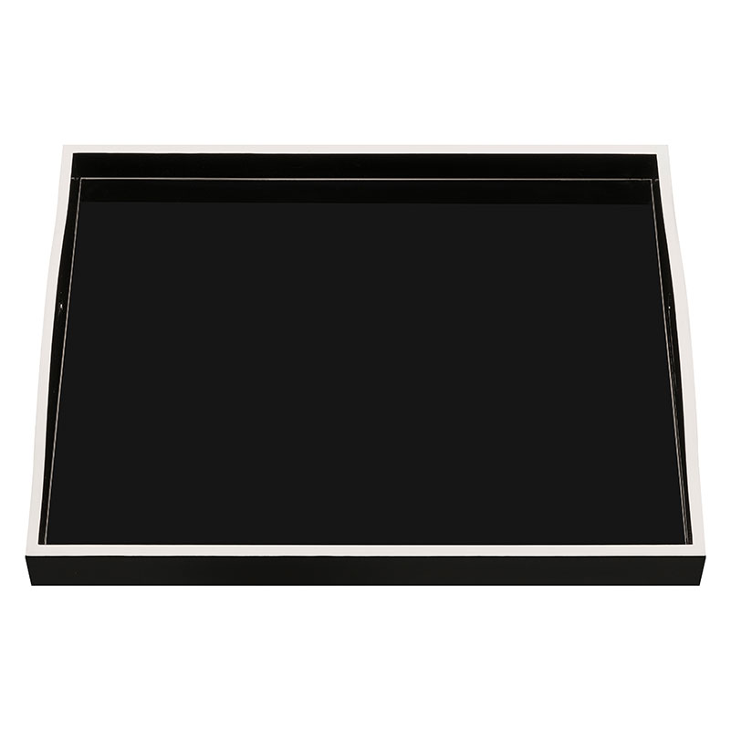 """Noire Blanche"" Tray – Large"
